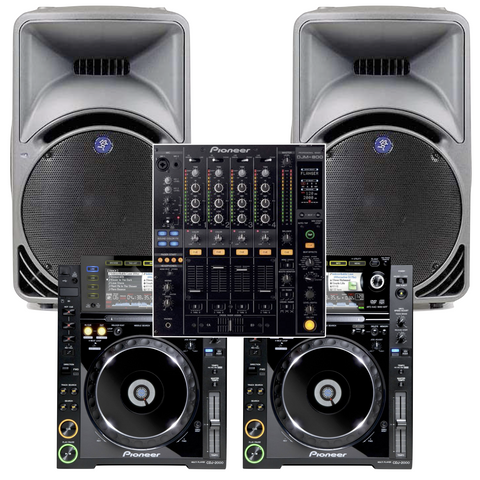 The Pioneer DJ Pack & Stereo PA