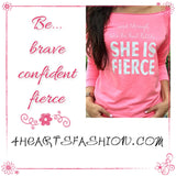She is Fierce   NOW AVAILABLE! - 4hearts - 3