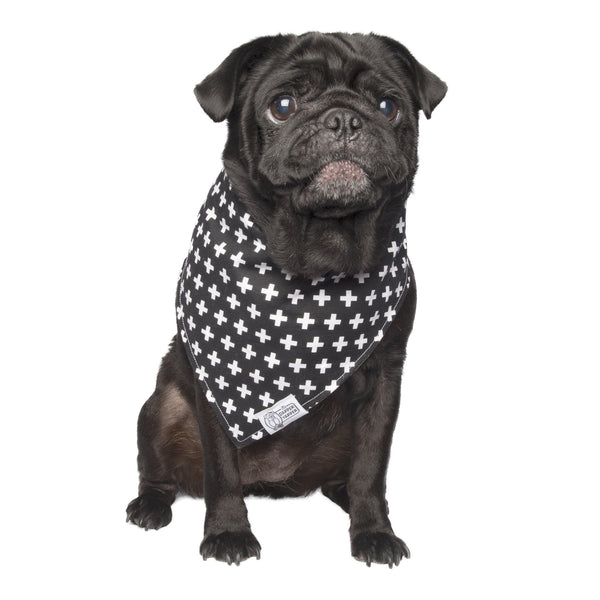 crosses dog bandana