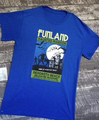 Haunted Mansion t-shirt (BLUE)