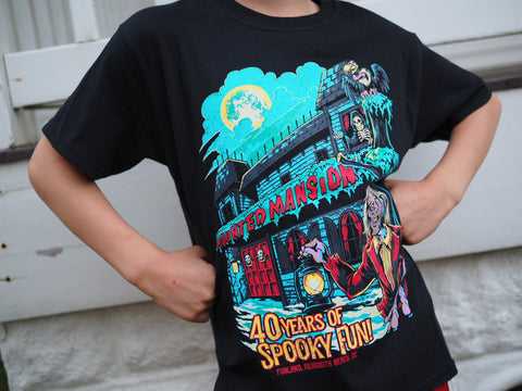 40th Anniversary Haunted Mansion t-shirt - 3XL & 4XL ONLY