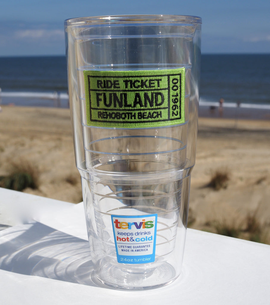 Tervis 24oz Ticket Tumbler