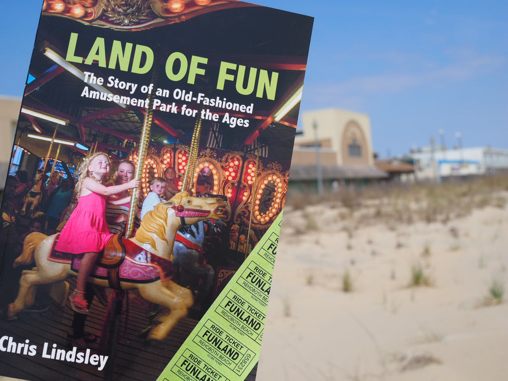 """Land of Fun"" book (paperback)"