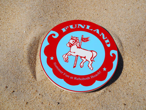 Wooden Carousel Horse Sign