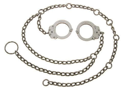 7002 Waist Chain with handcuffs located at hip