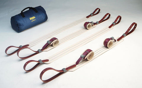 Locking Bed Restraint Kit #2, Leather