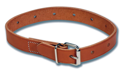 Leather Roller Buckle Belt (Non-Locking)
