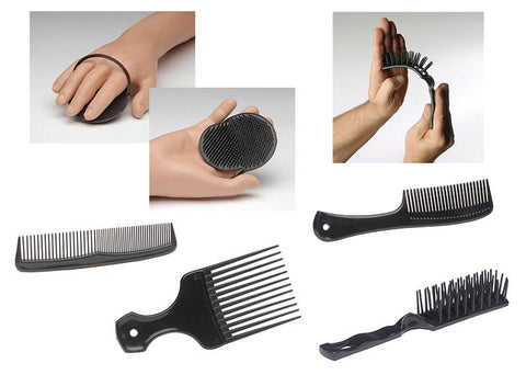 Soft Plastic Hair Styling Tools