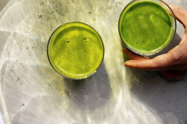 Green juice recipe by vegan chef Meredith Baird
