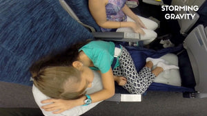 Fly LegsUp - Stress-free flights for your sleeping beauty & baby boy