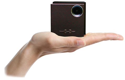 Uo smart beam laser projector storming malaysia for Worlds smallest hd projector