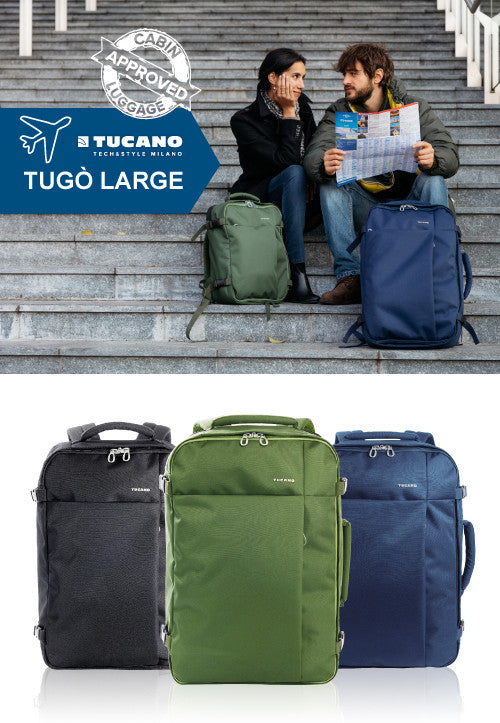 fe2f575f89e4 Tugò Malaysia - 38.5L Cabin Approved Luggage ‐ Storming Gravity