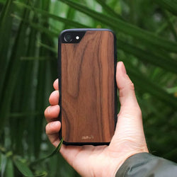 Mous - Real Wood Case for iPhone 6, 6s, 7, 8 / 6 Plus, 6s Plus, 7 Plus, 8 Plus