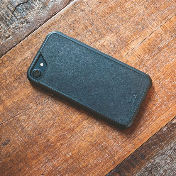 Mous - Real Black Leather Case for iPhone 6, 6s, 7, 8 / 6 Plus, 6s Plus, 7 Plus, 8 Plus (In Stock!)