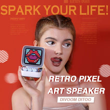 Divoom Ditoo - Retro Pixel Art LED Bluetooth Speaker - Divoom in Malaysia - Storming Gravity