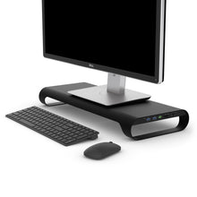 ProBASE X Aluminum Monitor Stand With QC/PD Fast-Charging Port - MONITORMATE in Malaysia - Storming Gravity