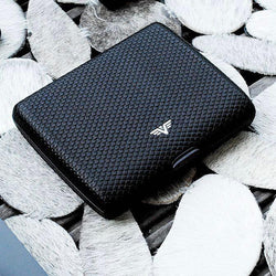 TRU VIRTU Wallet | Paper & Cards Leather | Designed In Germany - Storming Gravity