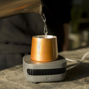 CupCooler - A smart device that cools down and keeps your drink cold till the last sip! - Allocacoc DesignNest Malaysia - Storming Gravity