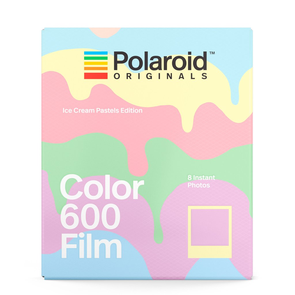 Polaroid Color Film for 600 Ice Cream Pastels Edition - Polaroid in Malaysia - Storming Gravity