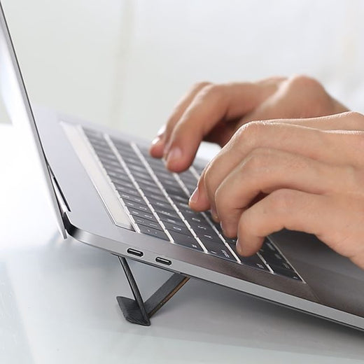 Tesmo Kickstand - World's Smallest, Invisible & Portable Laptop Stand