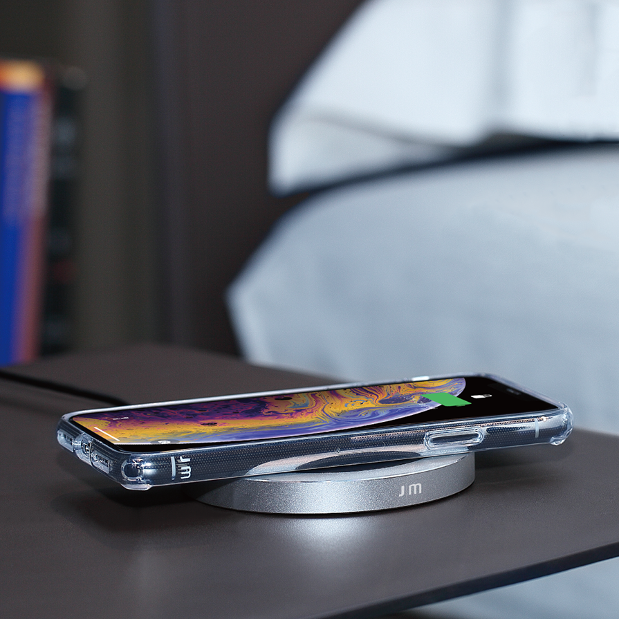 AluBase™ Wireless Charging Pad - Just Mobile in Malaysia - Storming Gravity