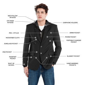 BAUBAX Blazer for Men - Storming Gravity