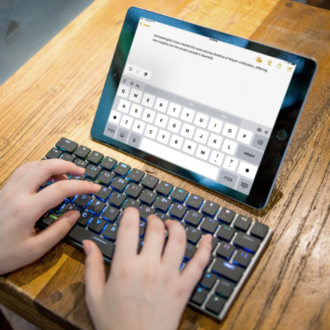Taptek Thinnest Wireless Mac Mechanical Keyboard - Vinpok Malaysia - Storming Gravity