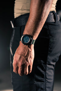 PowerWatch Black - Powered by your body heat (50m Water Resistance) - Matrix Industries Malaysia - Storming Gravity
