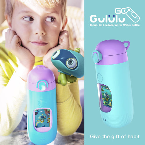 Gululu GO Interactive Water Bottle (320ml) - Gululu in Malaysia - Storming Gravity