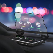 HUDWAY Glass - A universal vehicle accessory turning your smartphone into a head-up display for any car - HUDWAY in Malaysia - Storming Gravity