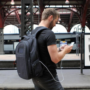 Lifepack - Solar Powered & Anti-Theft Backpack - Solgaard Design in Malaysia - Storming Gravity