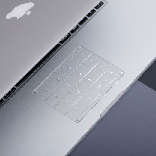 Luckey Nums - An Ultra-thin Smart Device to Transform Laptop Trackpads - LuckeyTech Malaysia - Storming Gravity