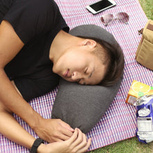 Aubergine Pillow - Comfort in just a puff - Allocacoc DesignNest in Malaysia - Storming Gravity
