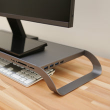 MONITORMATE ProStation 3.0 - Monitor Stand with USB hub, Fast Charger, and Card Reader - MONITORMATE in Malaysia - Storming Gravity