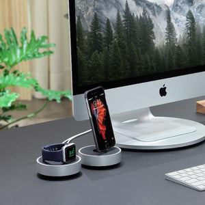 HoverDock Designer Stand - The minimalist charging dock for iPhone and anything Lightning - Just Mobile Malaysia - Storming Gravity