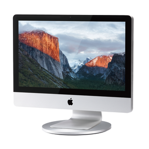 AluDisc - 360-Degree Aluminum Pedestal for iMac and Apple Display - Just Mobile in Malaysia - Storming Gravity