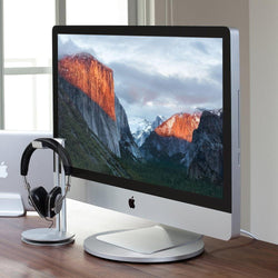 AluDisc - 360-Degree Aluminum Pedestal for iMac and Apple Display