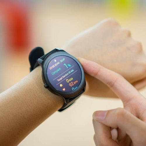 Ticwatch Active - Smart watch for fitness - Storming Gravity