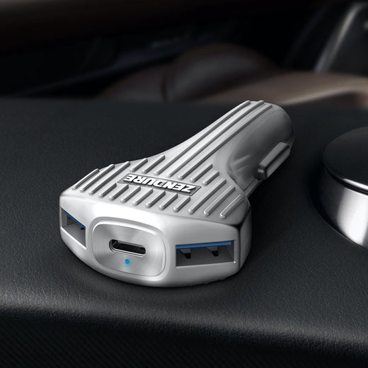 3-Port In Car Charger with PD - Zendure