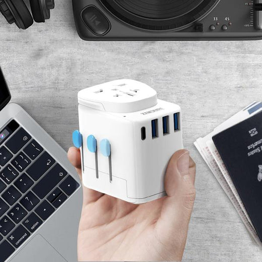 Zendure Passport Pro Resettable Grounded Travel Adapter with USB-C PD Fast Charging - Zendure Malaysia - Storming Gravity