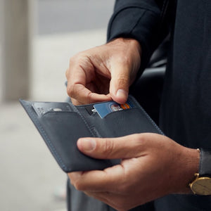 Bellroy Note Sleeve | Slim Men's Wallet - Storming Gravity