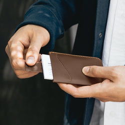 Bellroy Card Sleeve - Slim Leather Card holder