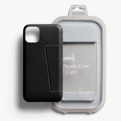 Bellroy Phone Case - 3 Card (Black) - Bellroy in Malaysia - Storming Gravity