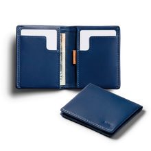 Bellroy Slim Sleeve | Leather Bifold Wallet for Minimalist - Storming Gravity