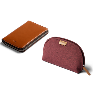 Bellroy Travel Set: Travel Folio, Classic Pouch