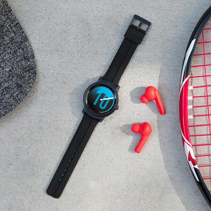 TicWatch E2 - A smartwatch boasts a waterproof rating of 5 ATM making them swim friendly - Mobvoi Malaysia - Storming Gravity