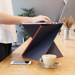 LEVIT8 Malaysia - The flat folding portable standing desk - Allocacoc DesignNest Malaysia - Storming Gravity