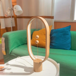 Heng Balance Lamp - A unique lamp with switch in mid-air - Allocacoc DesignNest - Storming Gravity