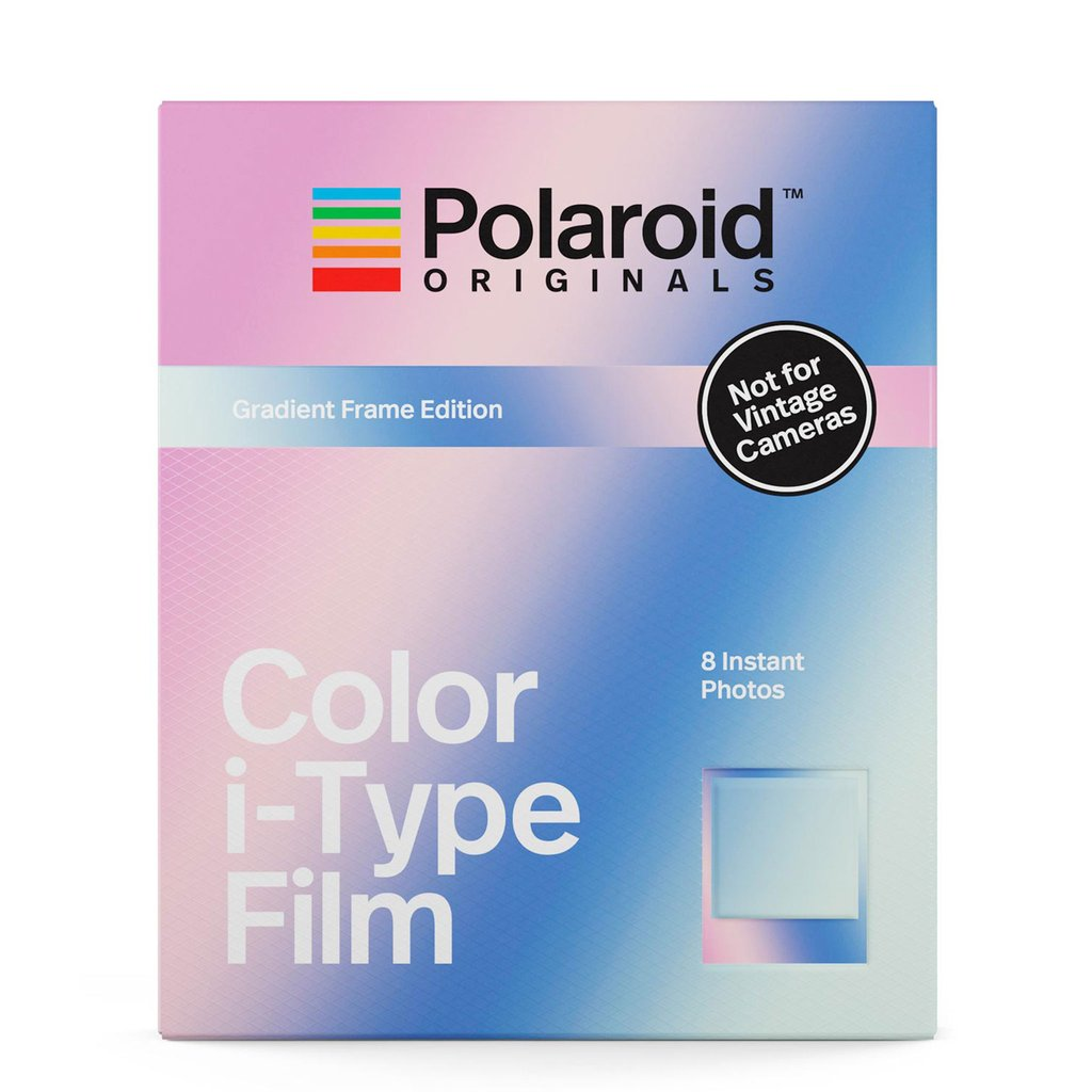 Polaroid Color i-Type Film Gradient Frame Edition - Polaroid in Malaysia - Storming Gravity