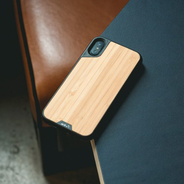 Mous - Real Wood Case for iPhone X / Xs / Xs Max / XR - Storming Gravity